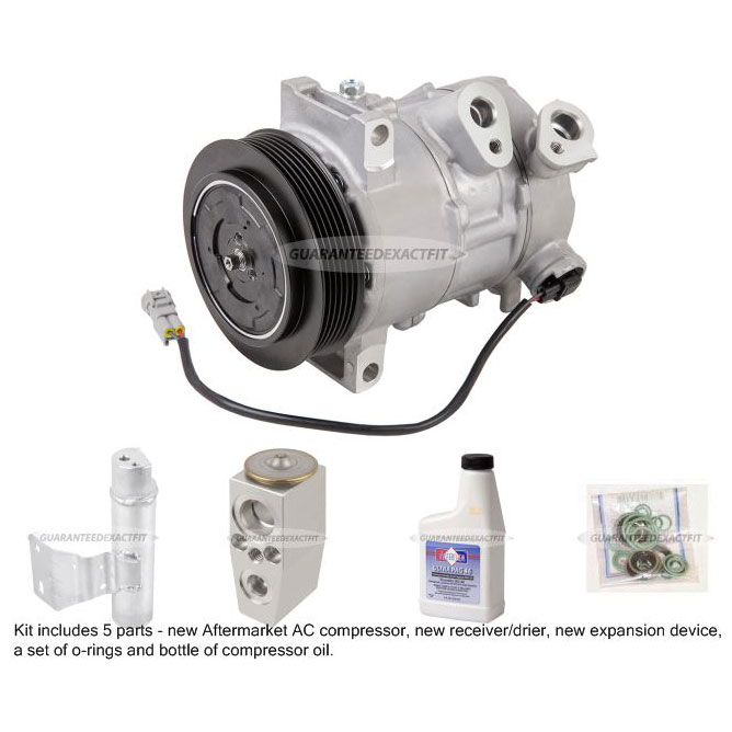 Jeep Compass A/C Compressor and Components Kit