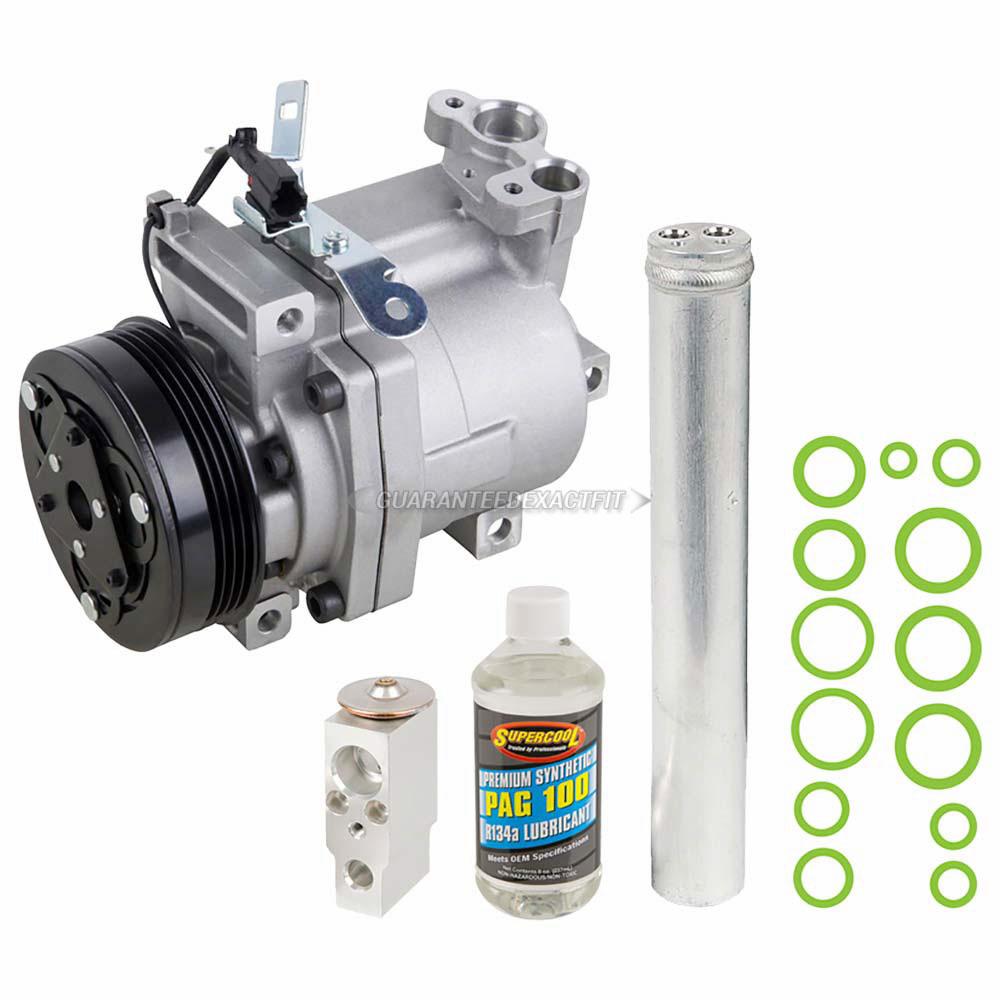 For Subaru Forester 2007 2008 AC Compressor W/ A/C Repair