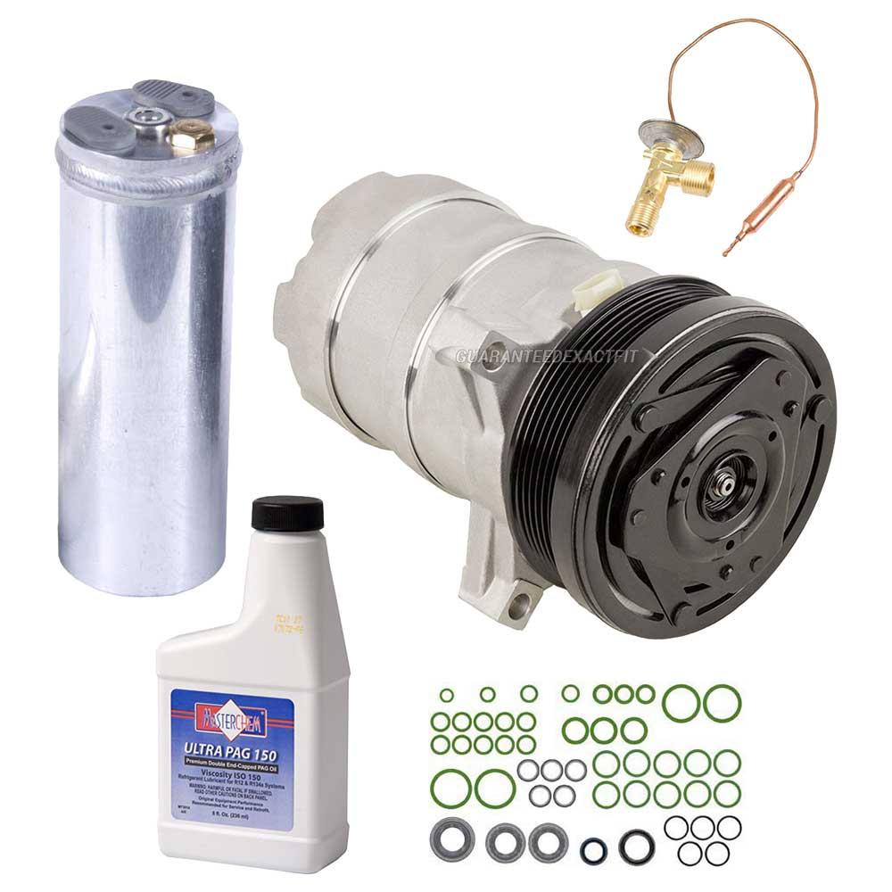 Isuzu Trooper A/C Compressor and Components Kit