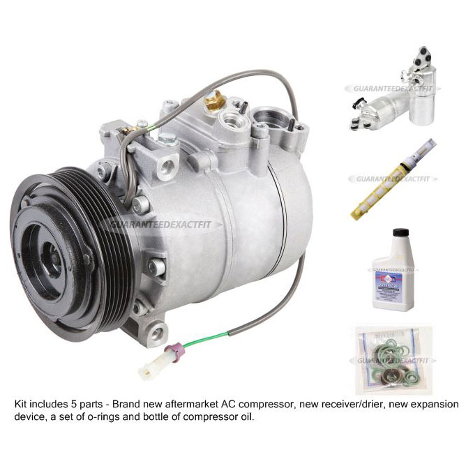 Audi Allroad Quattro A/C Compressor and Components Kit