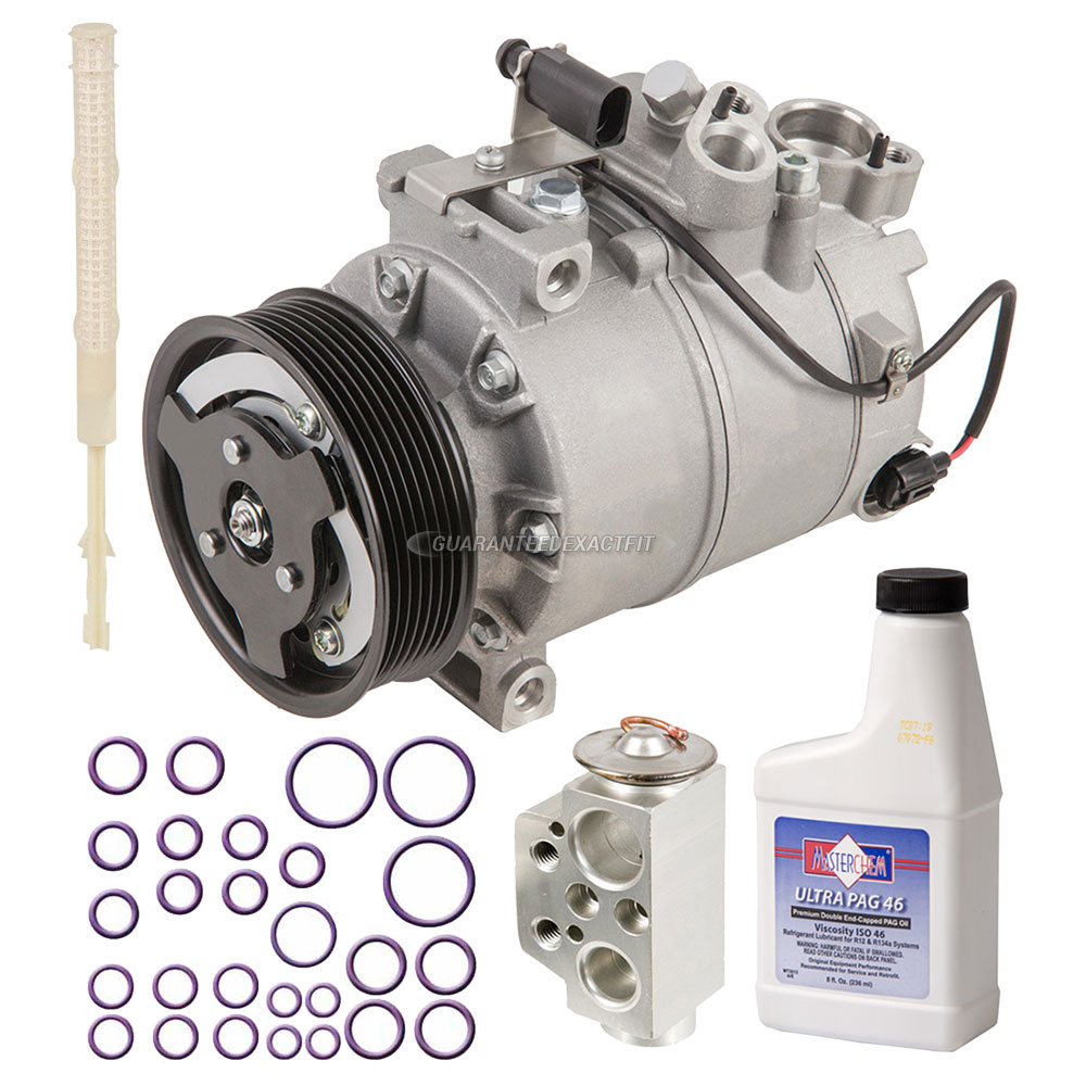 2007 Audi Q7 A/C Compressor and Components Kit