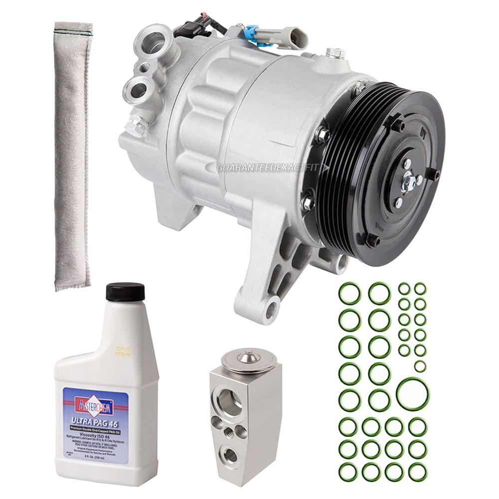 2011 Cadillac SRX A/C Compressor And Components Kit 3.0L