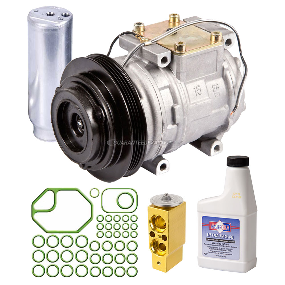 1995 Geo Prizm A  C Compressor And Components Kit 1 6l Or 1
