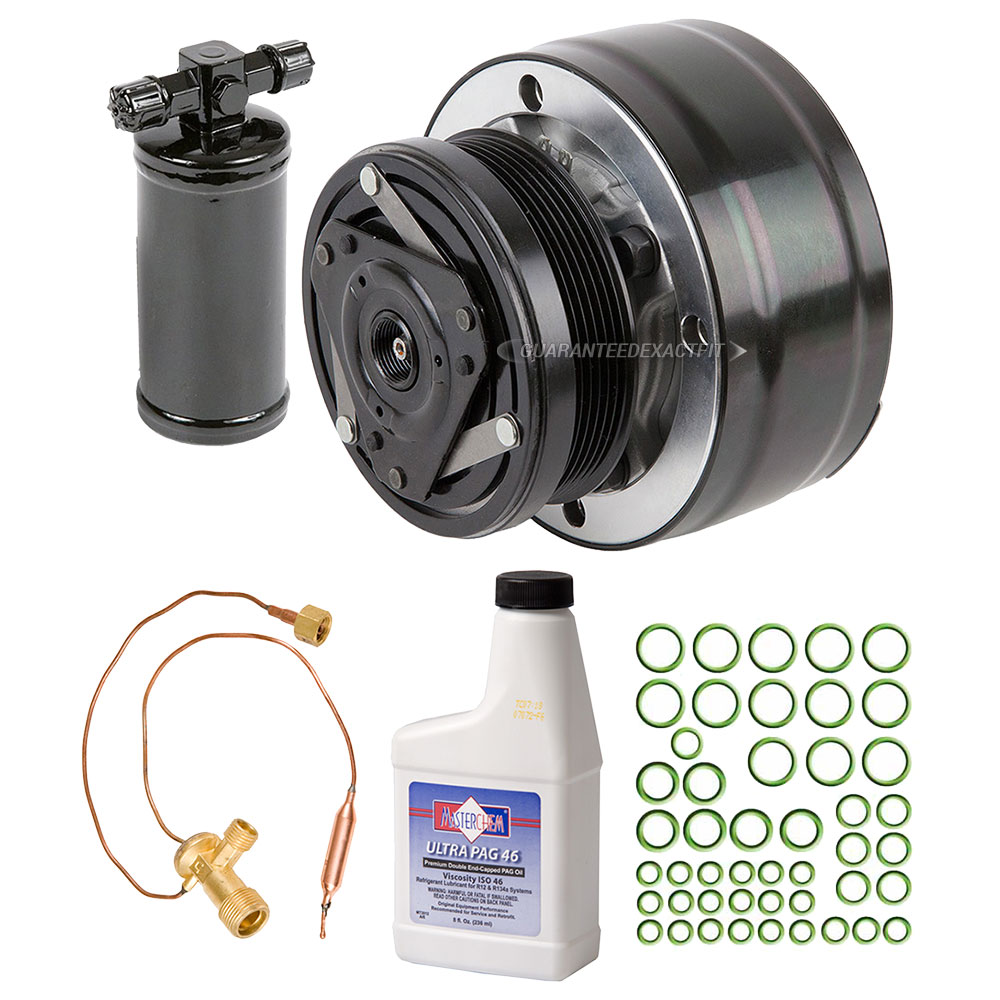 1991 Isuzu Rodeo A/C Compressor and Components Kit