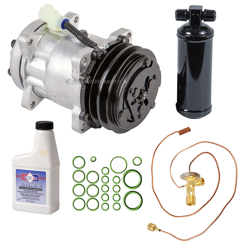 Land Rover Defender A/C Compressor and Components Kit