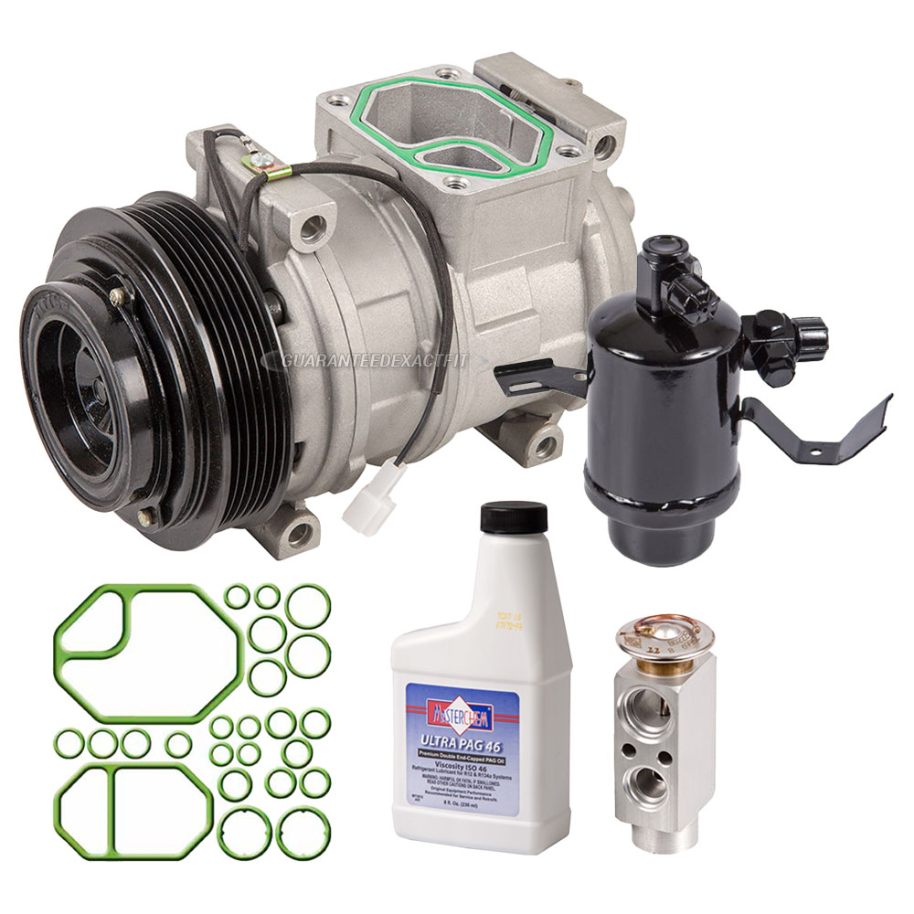 Mercedes Benz 500E A/C Compressor and Components Kit