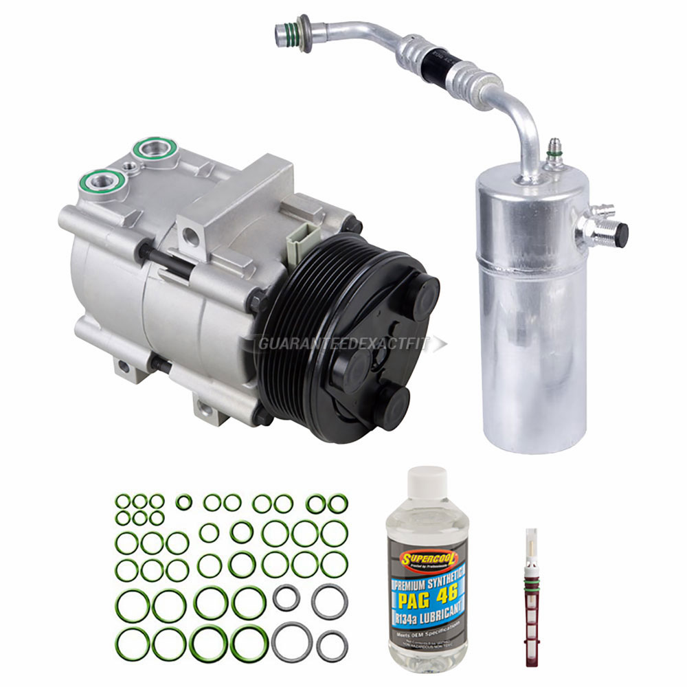 Ford Expedition Ac Compressor And Components Kit Oem Aftermarket 1999 Fuel Filter Removal A C