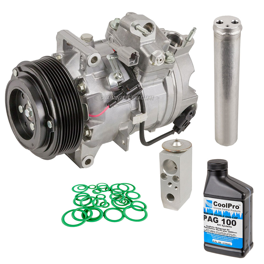 Nissan 370Z A/C Compressor and Components Kit