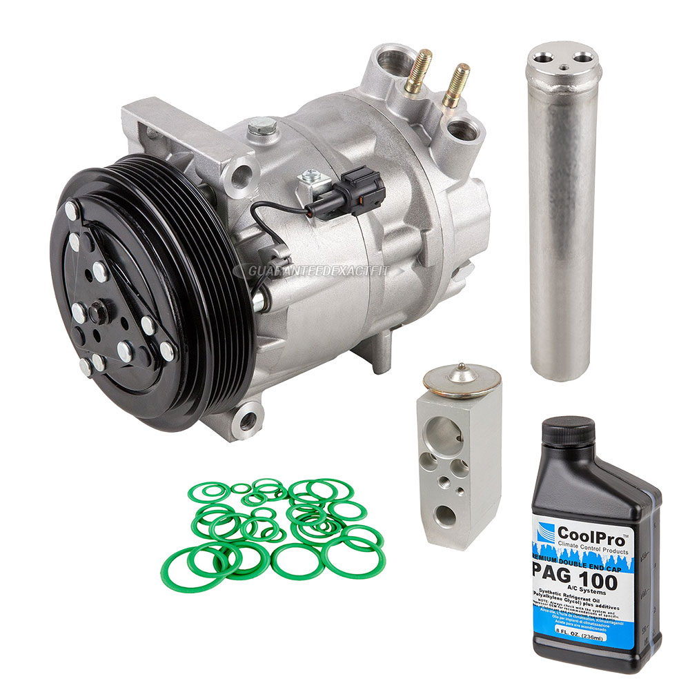 2002 nissan maxima a c compressor and components kit all for Nissan maxima motor oil type