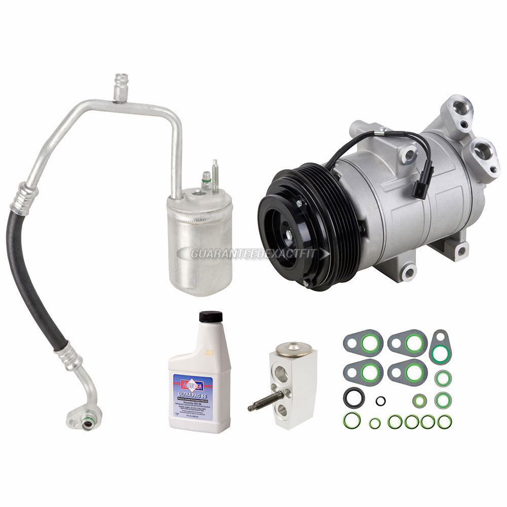 AC Compressor w// A//C Repair Kit For Ford Escape Mazda Tribute Mercury DAC