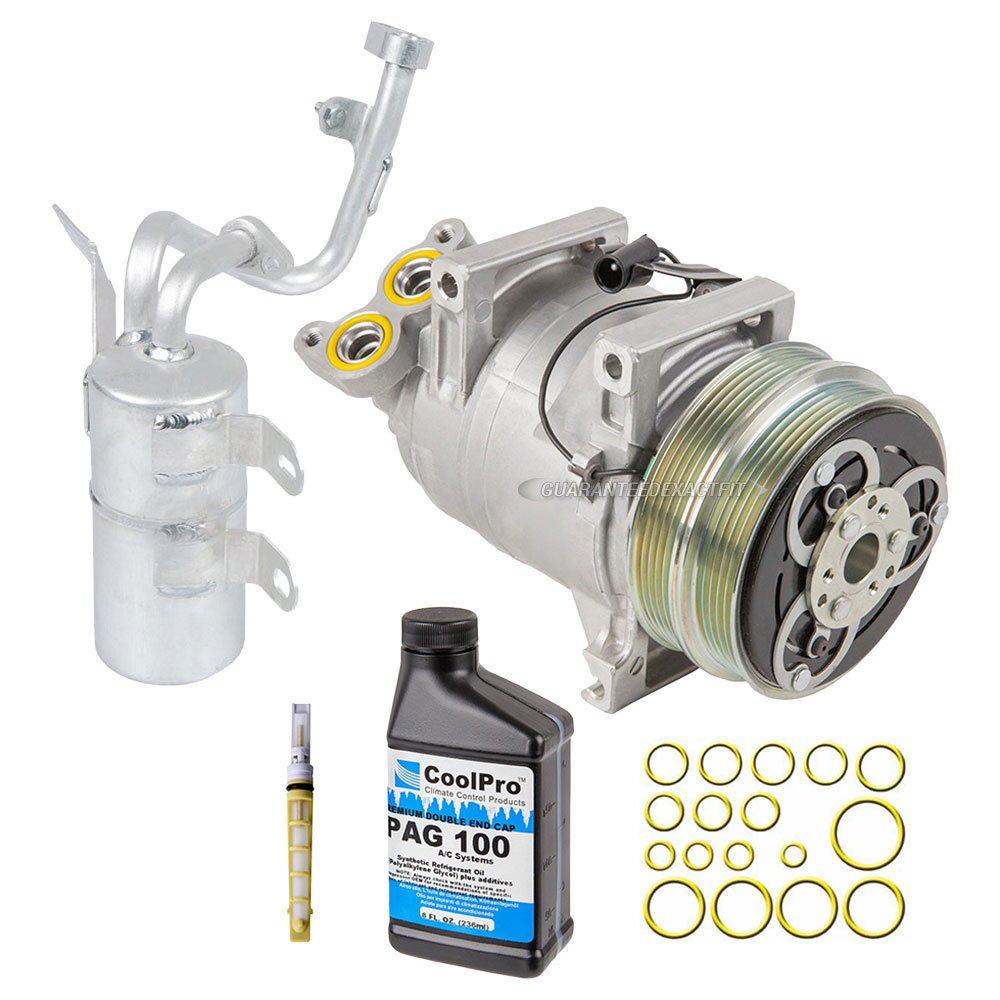 Volvo C70 2006: 2006 Volvo C70 A/C Compressor And Components Kit All