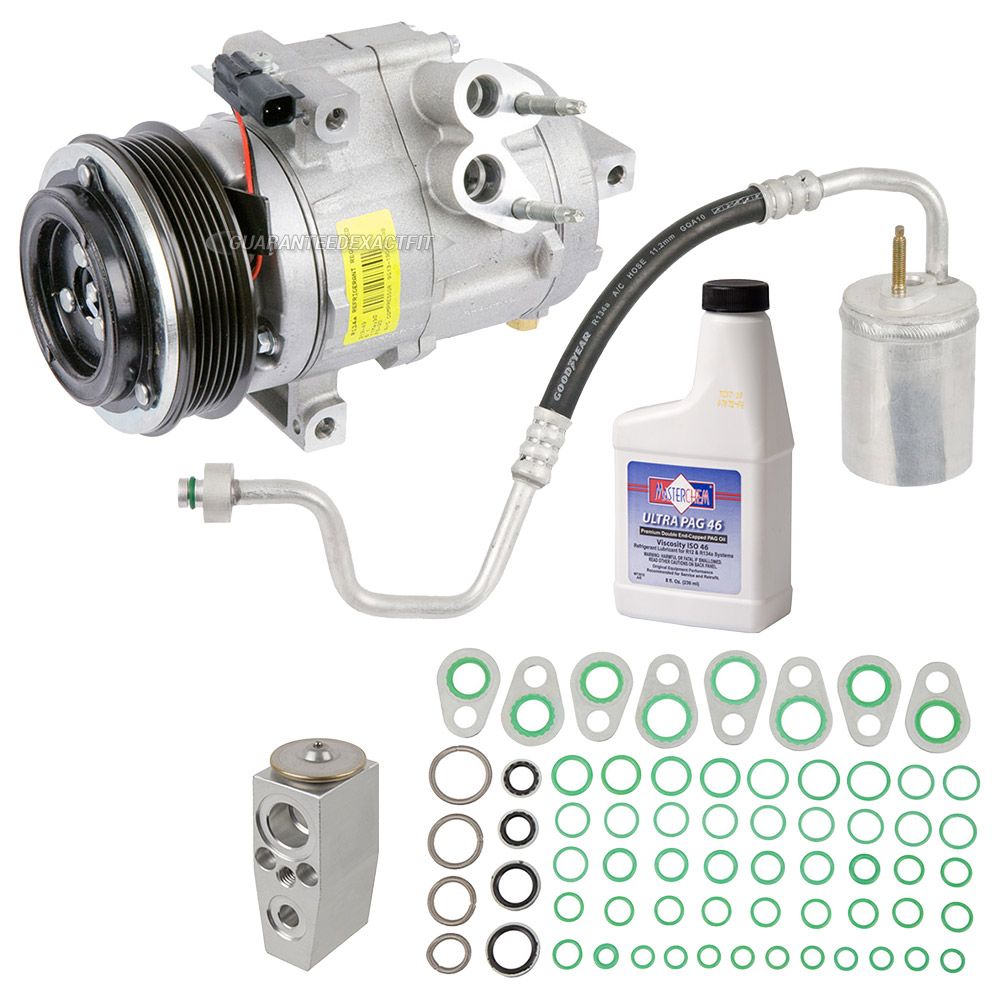 Lincoln MKT A/C Compressor and Components Kit
