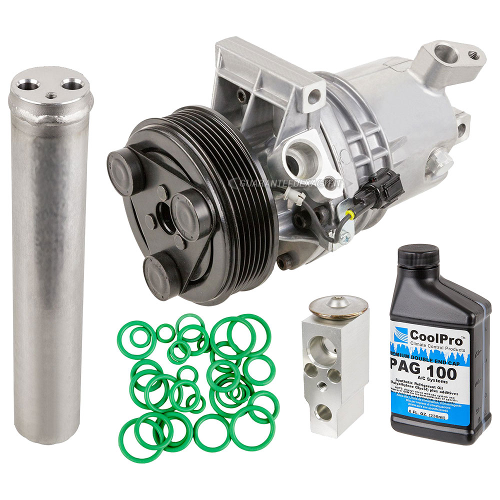 Nissan Versa A/C Compressor and Components Kit