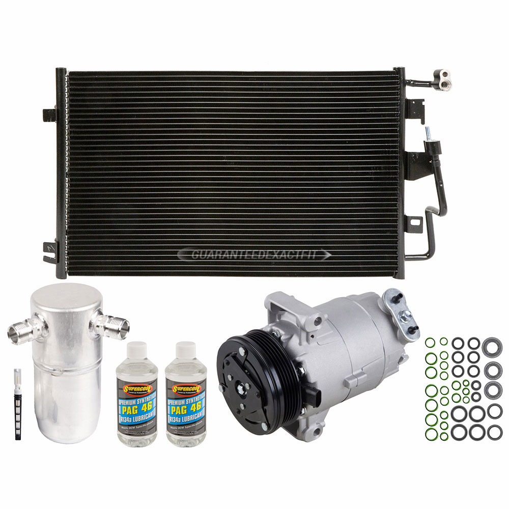 AC Condenser A//C Air Conditioning for Chevy Cavalier Pontiac Sunfire New