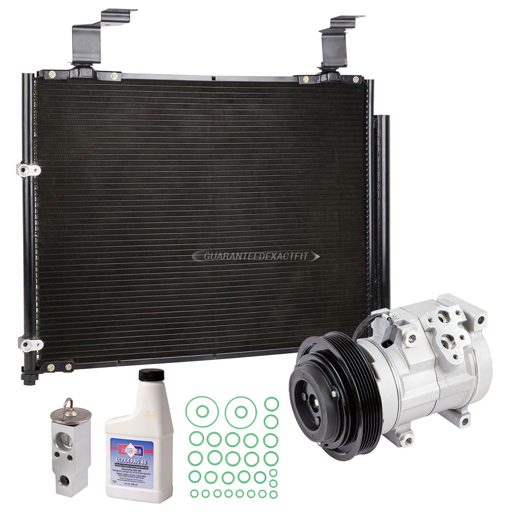 2003 Acura MDX A/C Compressor And Components Kit All