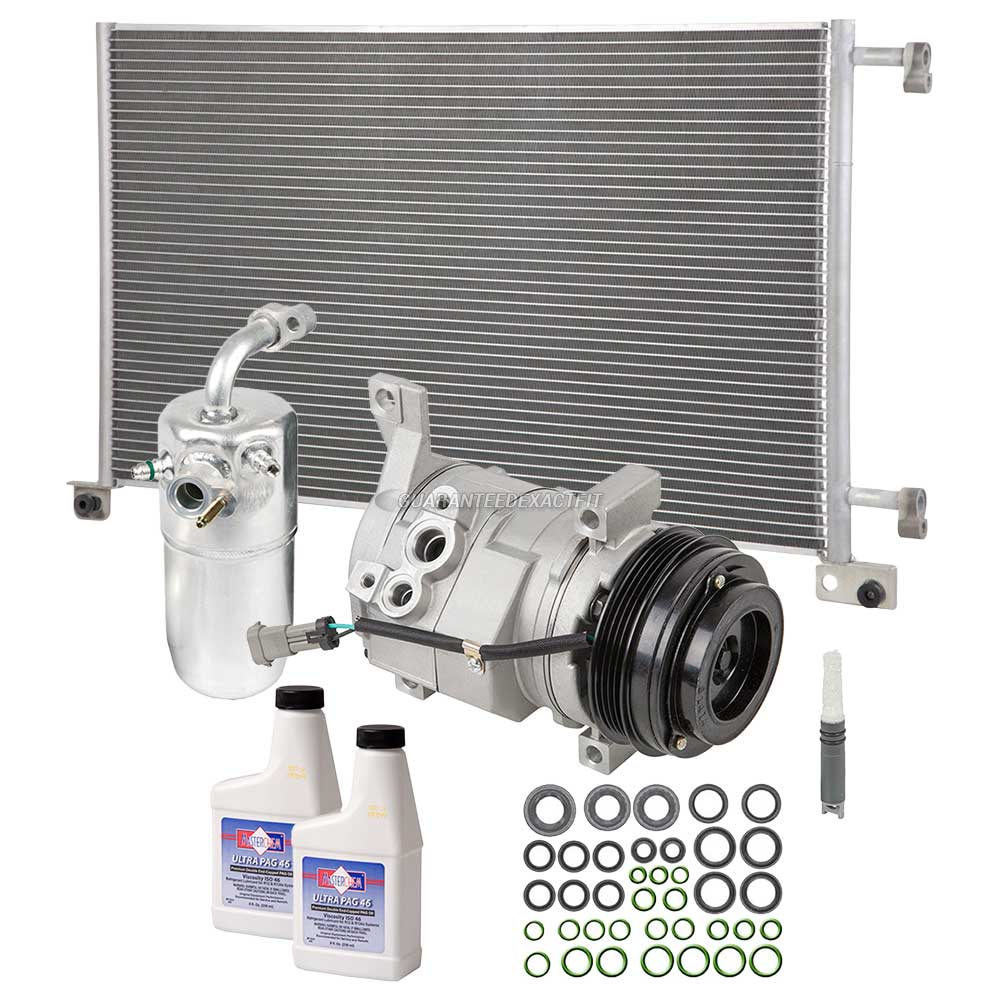 2012 chevrolet avalanche a c compressor and components kit