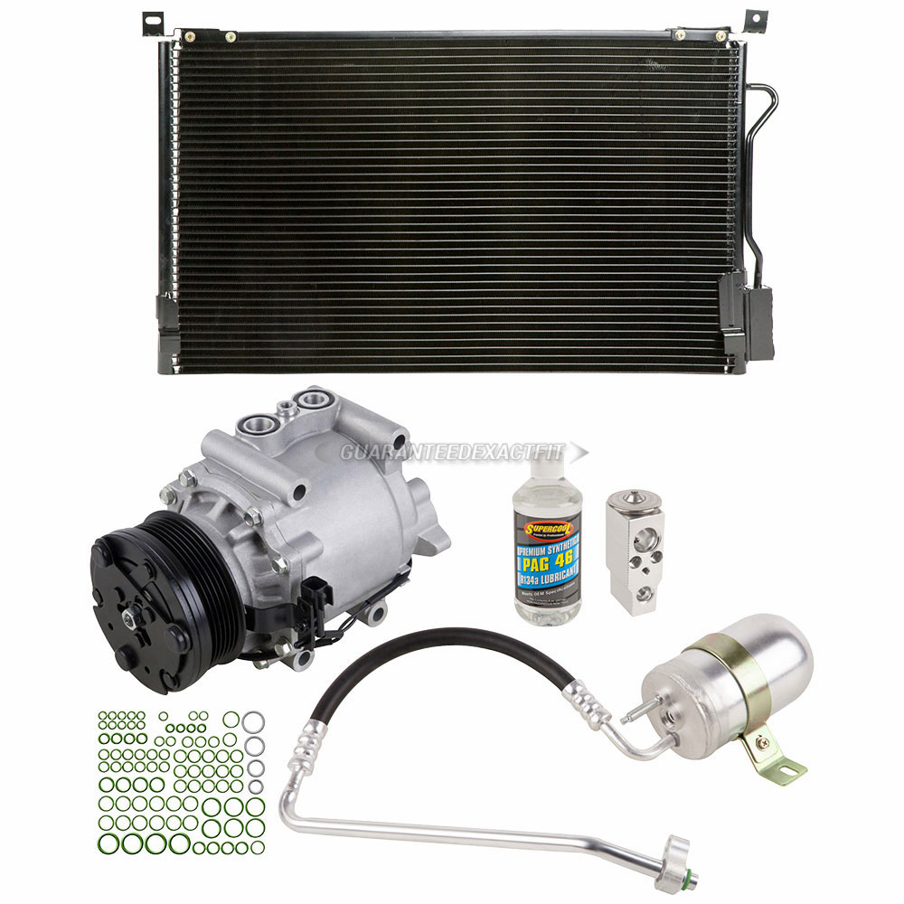 A C Kit W Ac Compressor Condenser Drier Fits Ford Freestyle 2005 Fuel Filter 2007