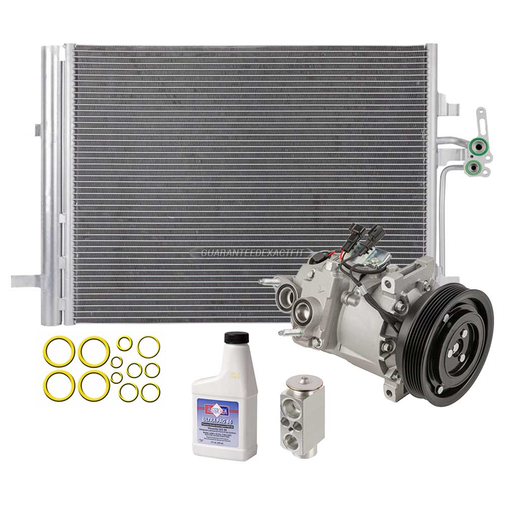 AC Compressor and Components Kits for Volvo S80, Volvo V70 and ...