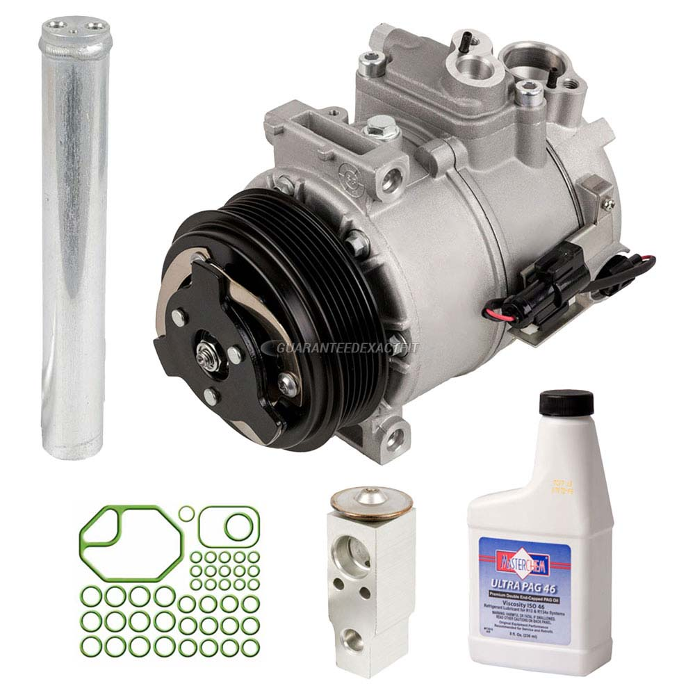 AC Compressor W/ A/C Repair Kit For Land Rover LR3 & Range