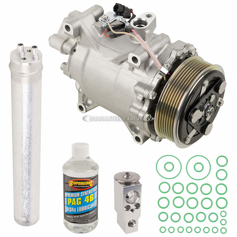 2013 Acura ILX A/C Compressor And Components Kit 2.4L