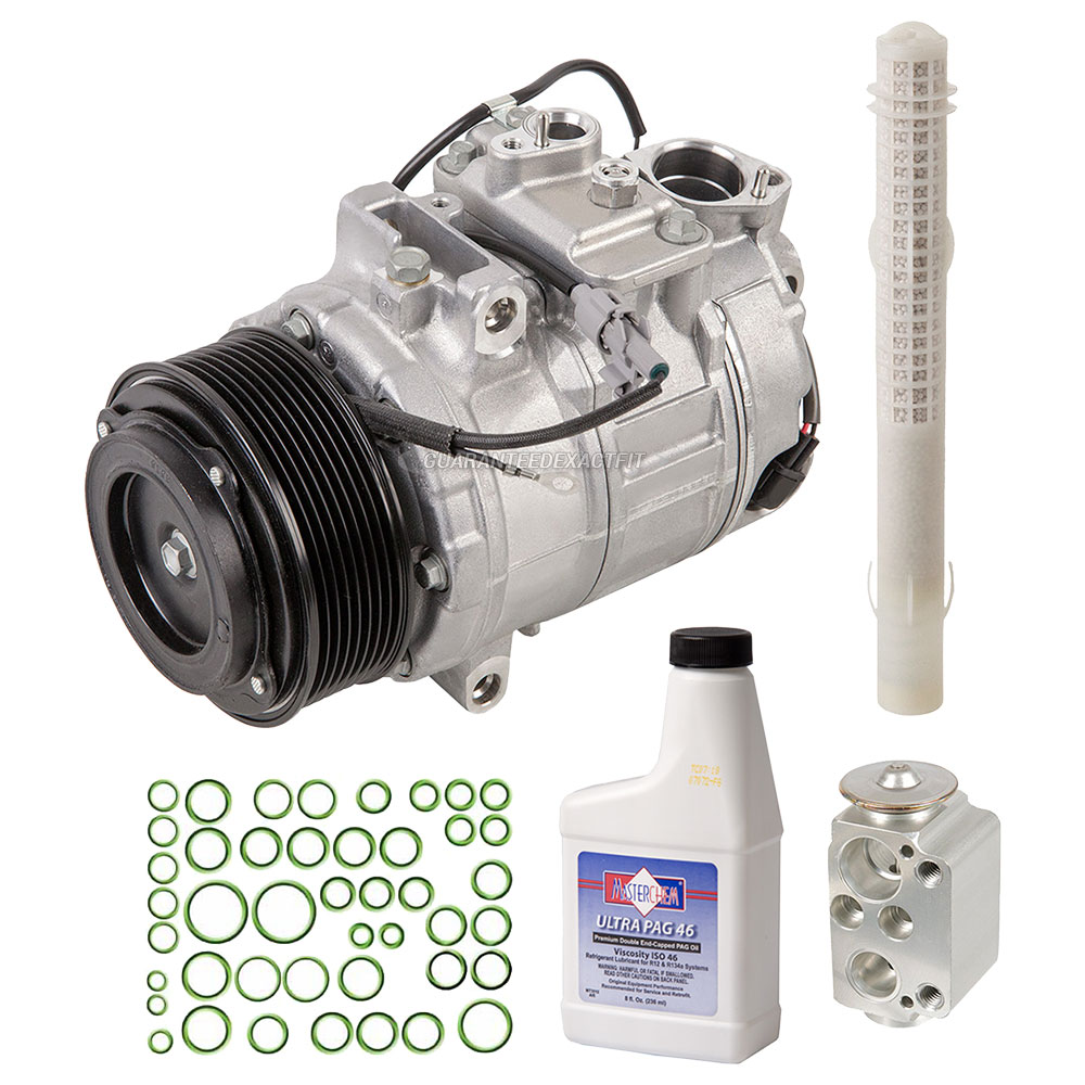 2014 BMW 535i A/C Compressor And Components Kit All Models