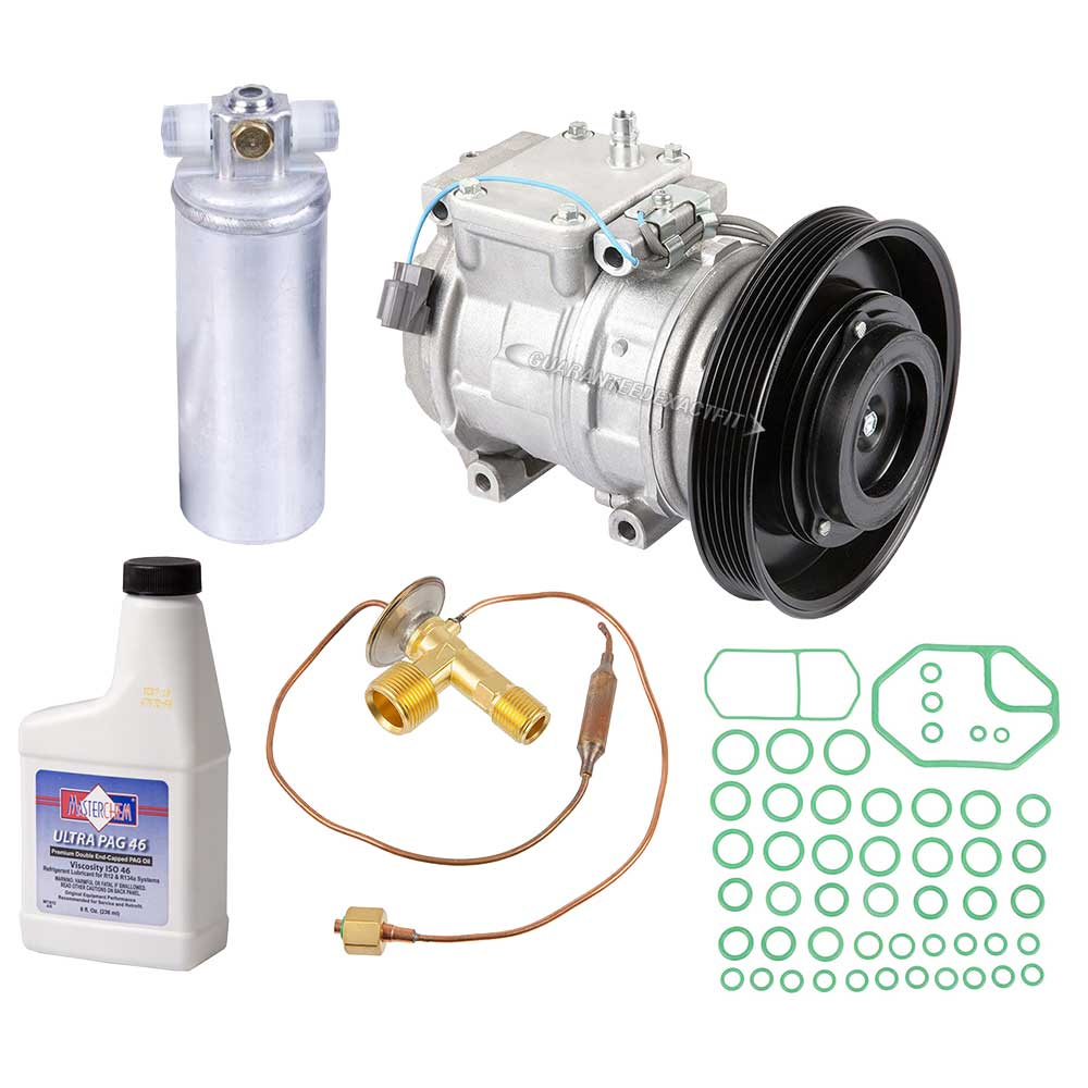 Acura TL A/C Compressor and Components Kit