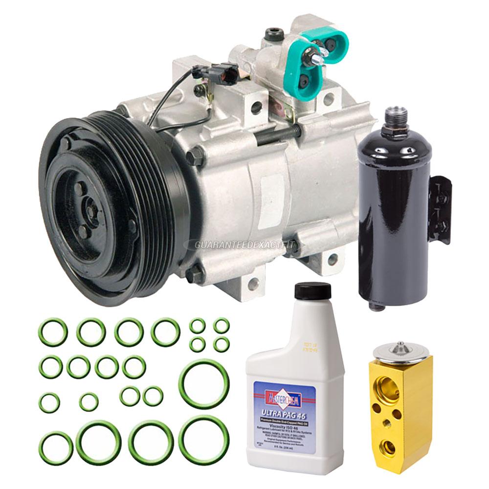 2002 Kia Optima A/C Compressor And Components Kit 2.7L