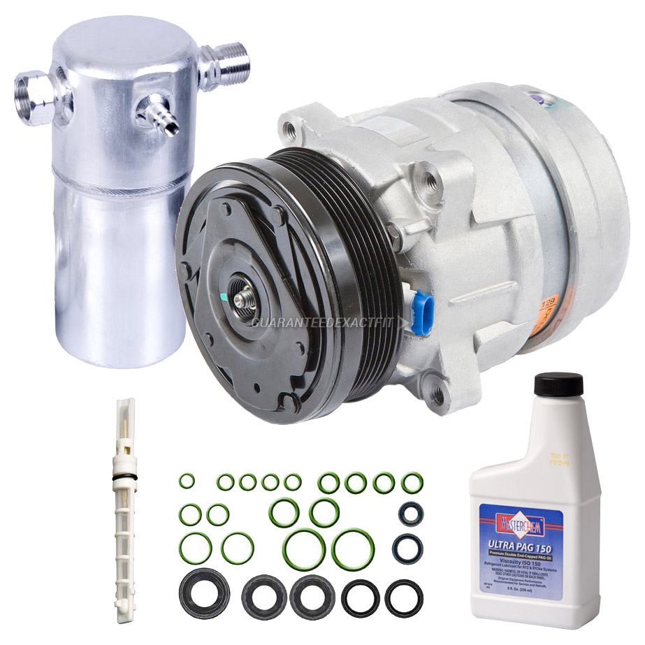 2003 Chevrolet S10 Truck A  C Compressor And Components Kit