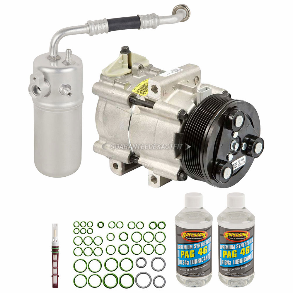 Ford Expedition A C Compressor And Components Kit