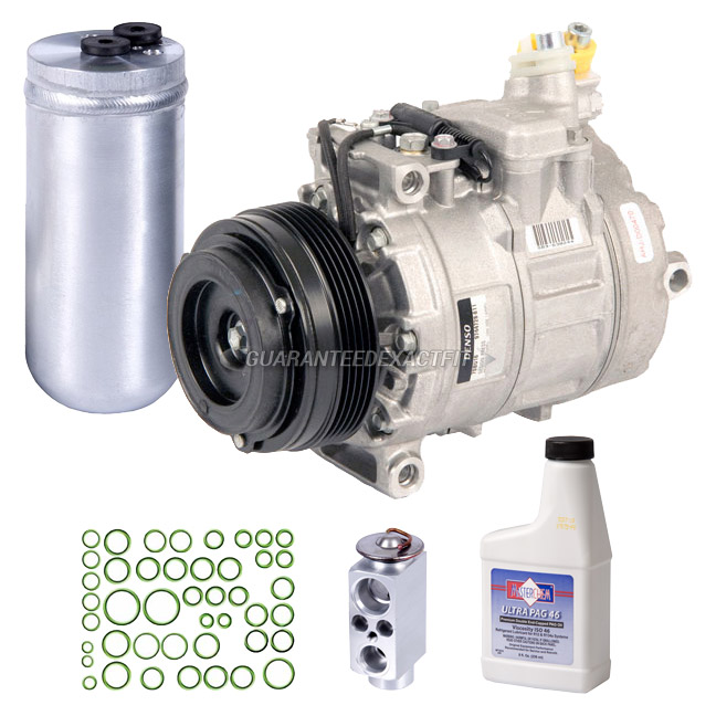 2004 BMW 325 A/C Compressor and Components Kit