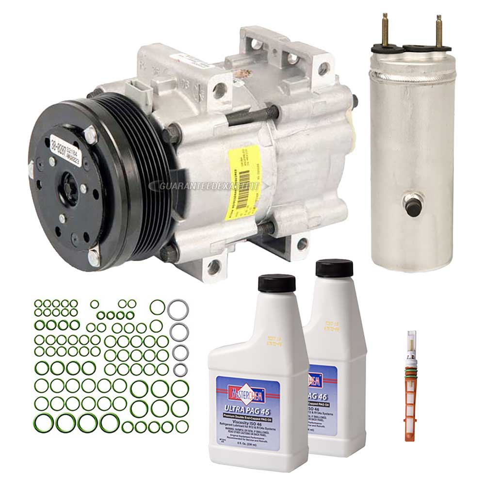 2007 Ford Freestar A/C Compressor And Components Kit 3.9L