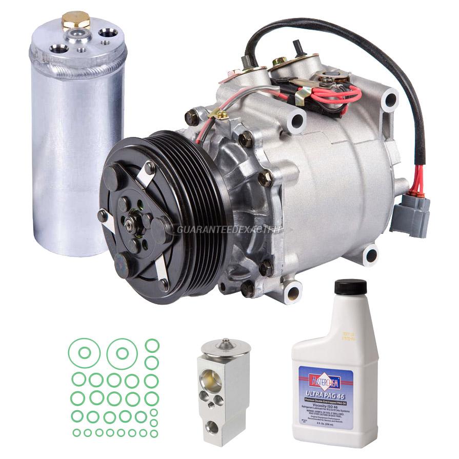 2003 honda civic a c compressor and components kit 1 7l for Honda air compressor motor parts