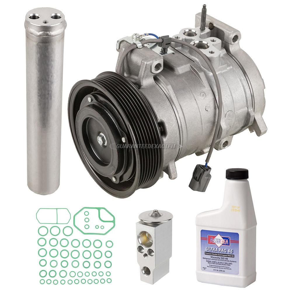 2005 Honda Accord A/C Compressor and Components Kit 2.4L ...