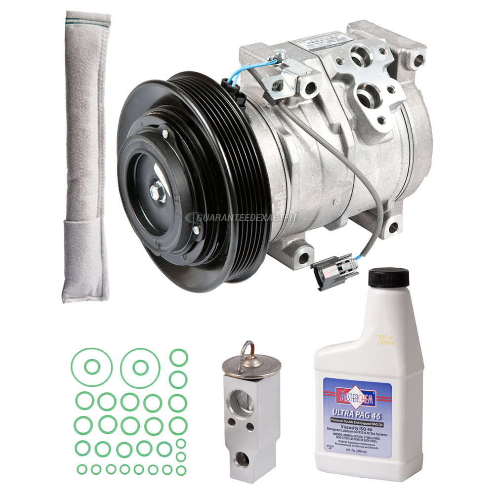 2004 Acura MDX A/C Compressor And Components Kit All
