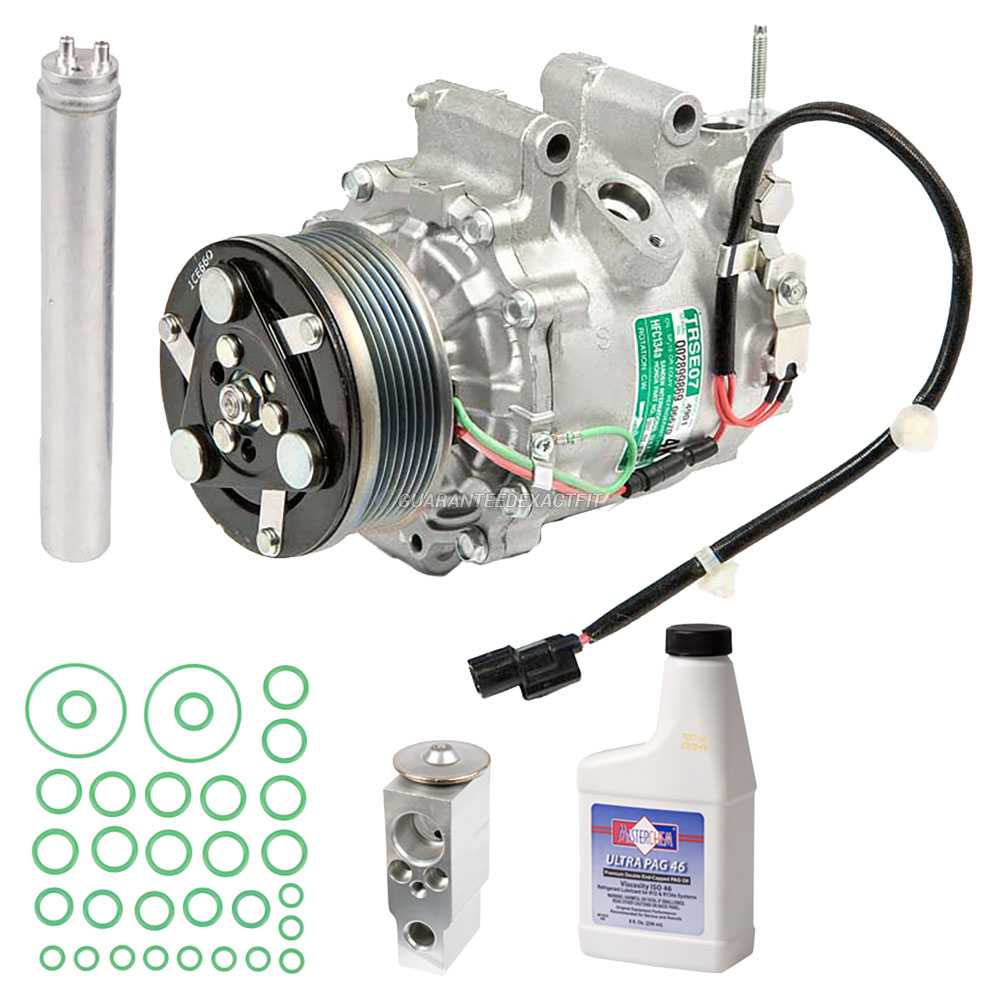 2007 honda civic a c compressor and components kit 1 8l for 2007 honda civic oil capacity