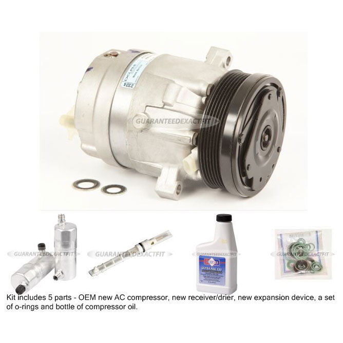 Buick Estate Wagon A/C Compressor and Components Kit