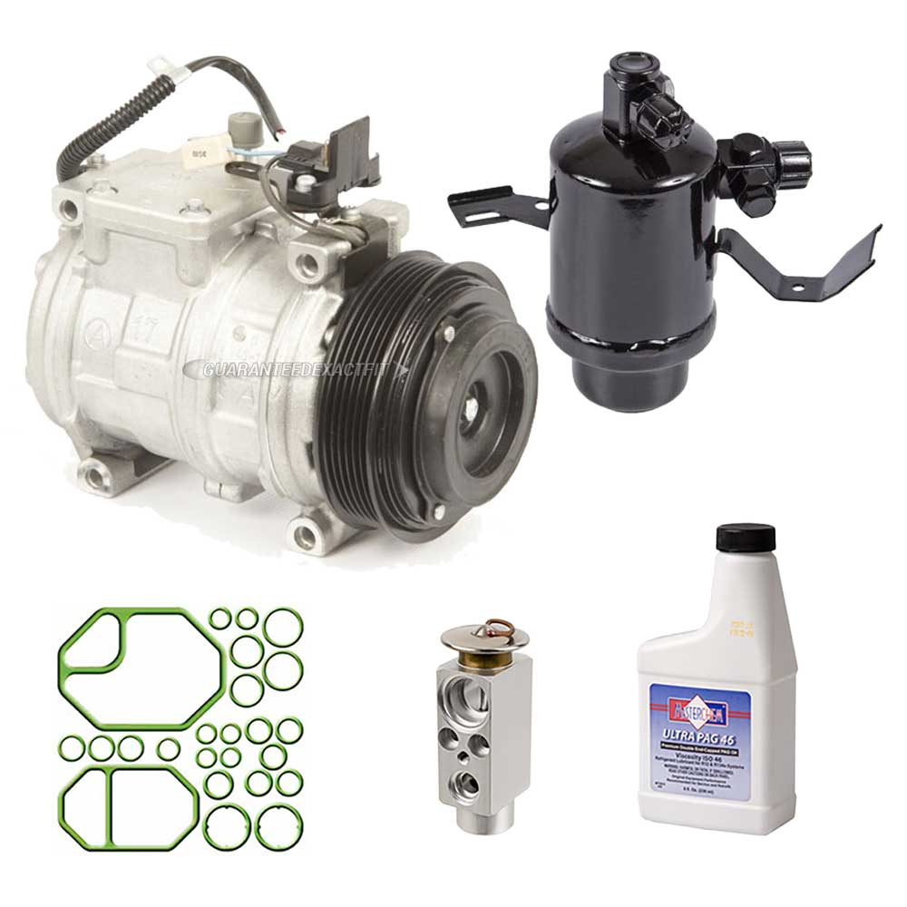 1990 Mercedes Benz 300D A/C Compressor and Components Kit