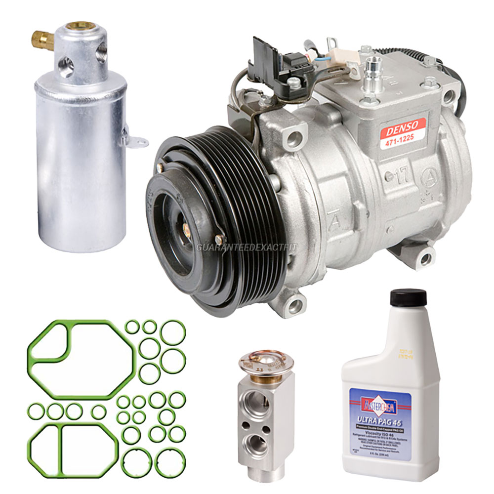 Mercedes Benz 600SEL A/C Compressor and Components Kit