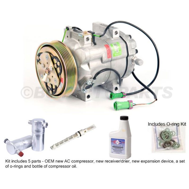 Audi 90 A/C Compressor and Components Kit