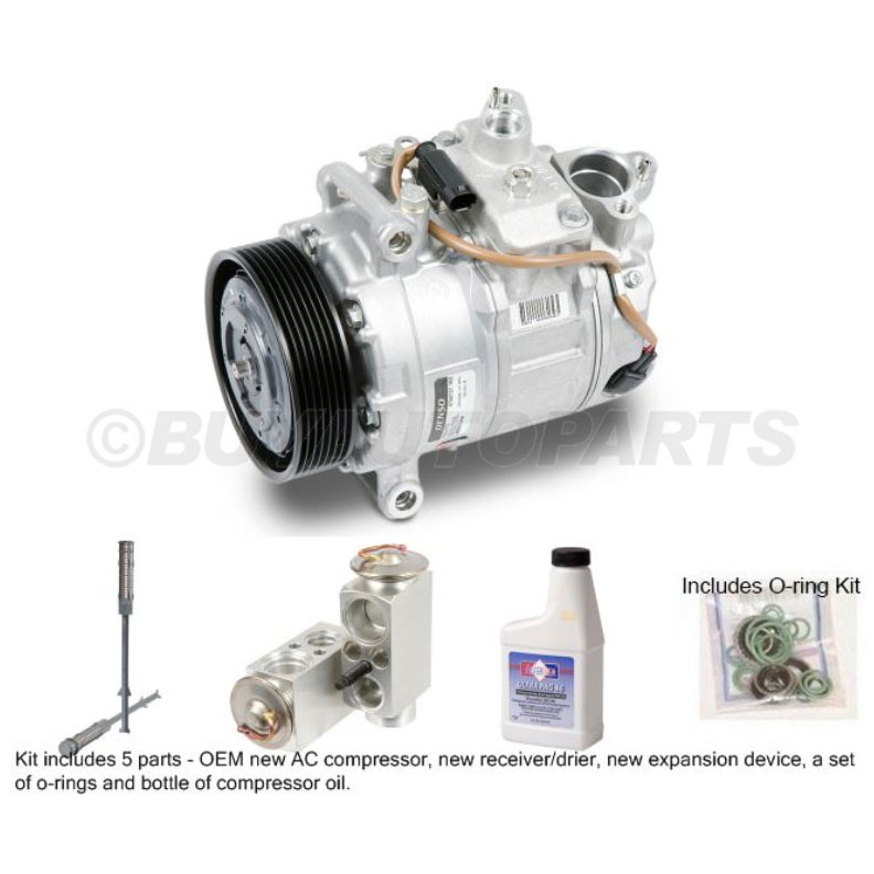BMW 535 A/C Compressor and Components Kit