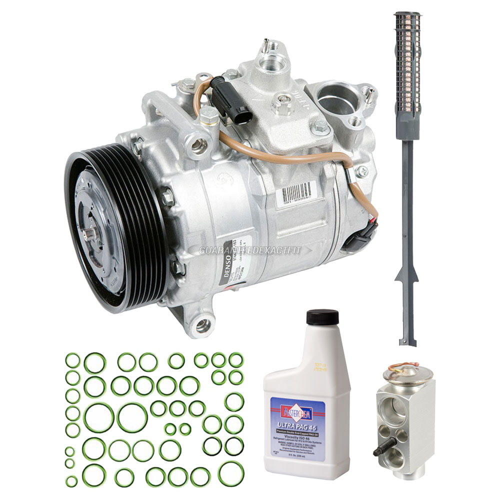 BMW 535i xDrive A/C Compressor and Components Kit