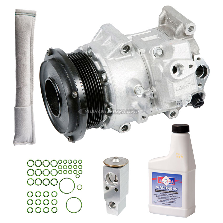 2011 Lexus GS460 A/C Compressor and Components Kit