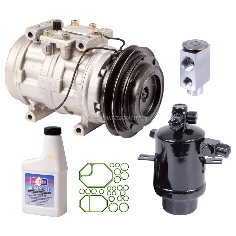 Mercedes Benz 560SEC A/C Compressor and Components Kit