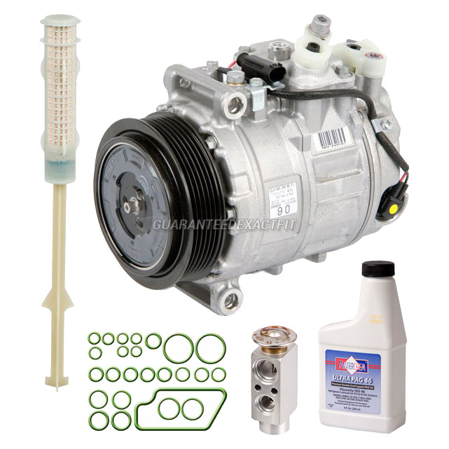 2006 Mercedes Benz SLK280 A/C Compressor and Components Kit