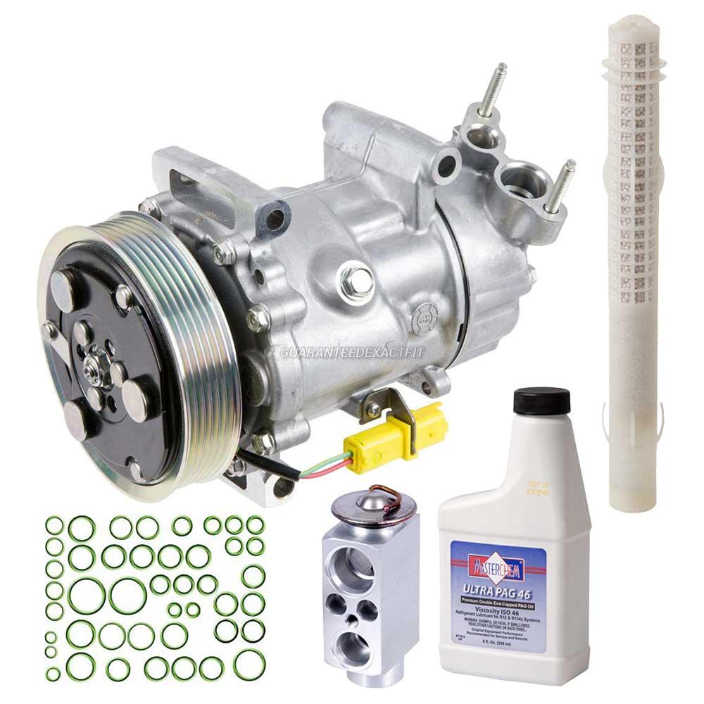 1.6L New A//C AC Compressor Kit 2007 Mini Cooper