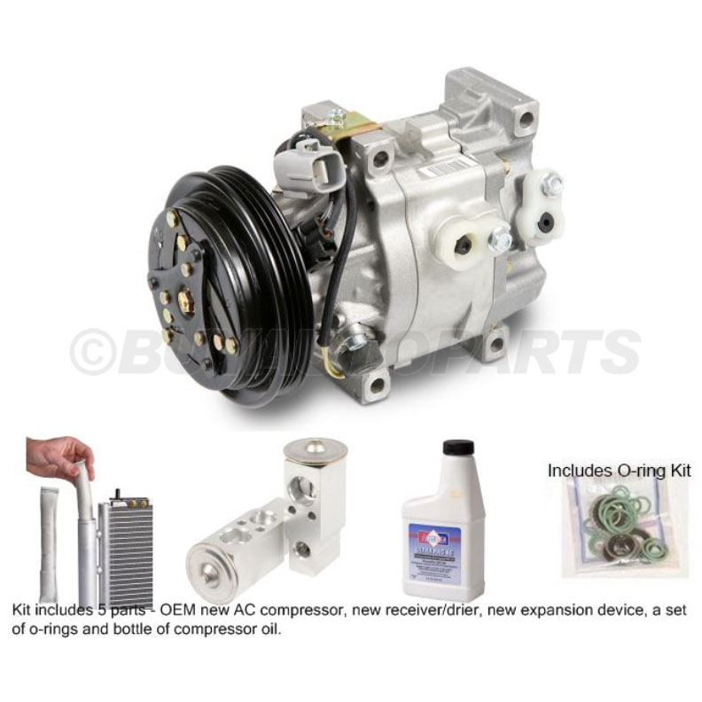 Toyota Prius A/C Compressor and Components Kit