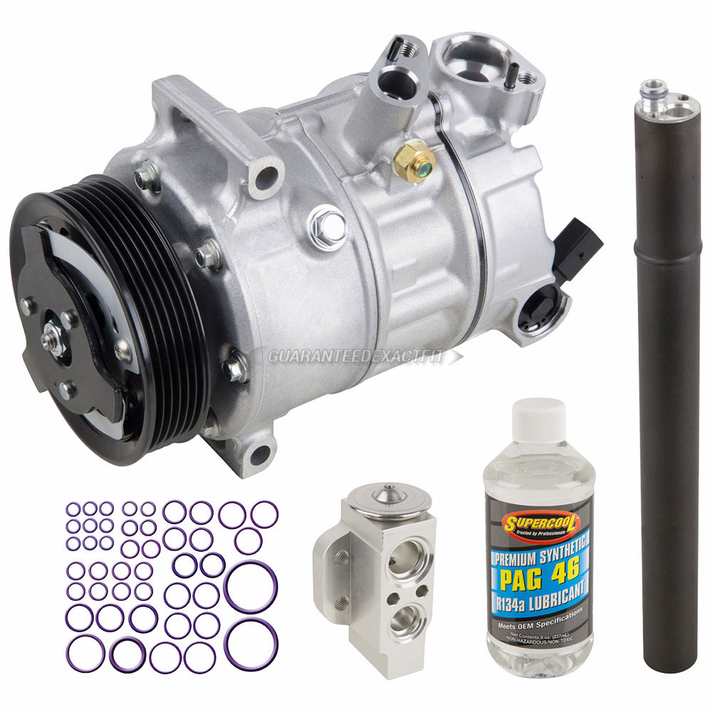 Audi A3 A/C Compressor and Components Kit