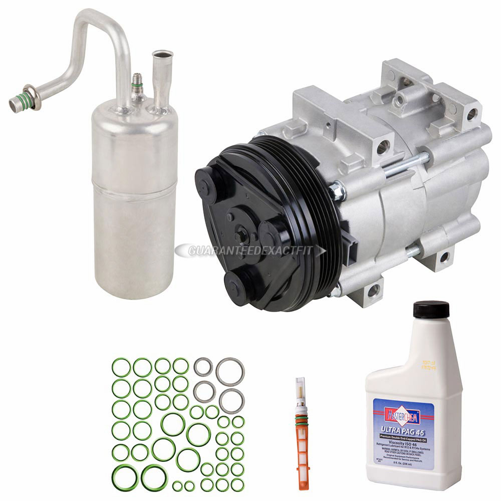 1994 Ford Tempo A/C Compressor And Components Kit 2.3L
