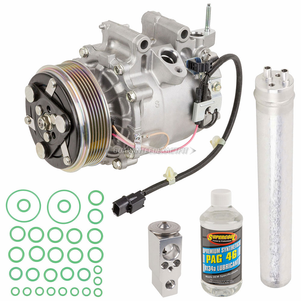 2014 Acura ILX A/C Compressor And Components Kit 2.0L