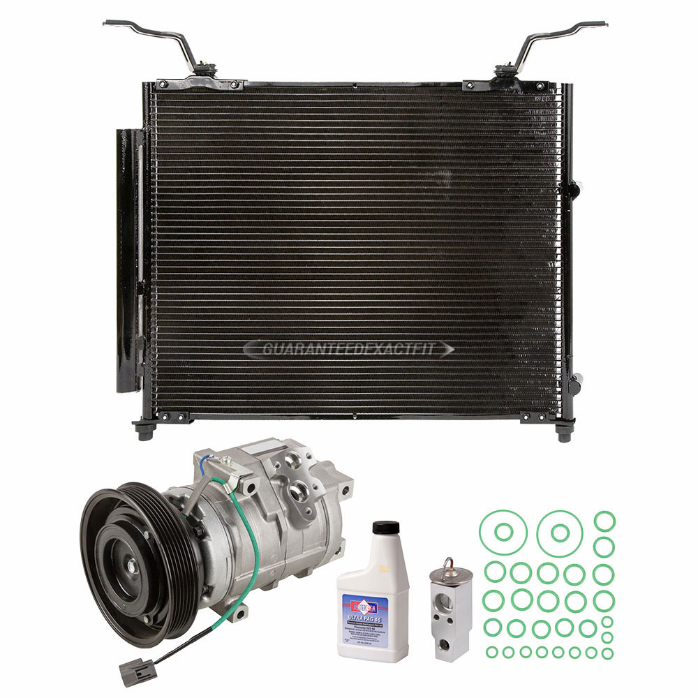 Acura MDX A/C Compressor and Components Kit
